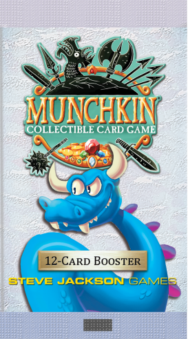 Munchkin Collectible Card Game: Booster Pack 12-cards
