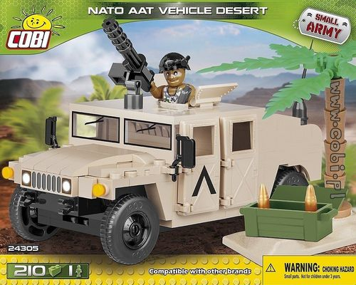 NATO AAT Vehicle Desert 210 pcs