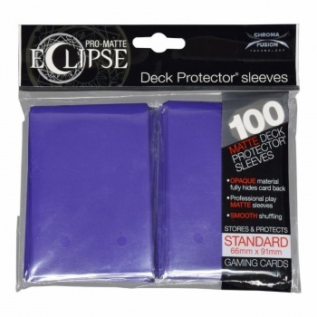 Deck Protector Eclipse Pro-Matte Standard 100 st Royal Purple