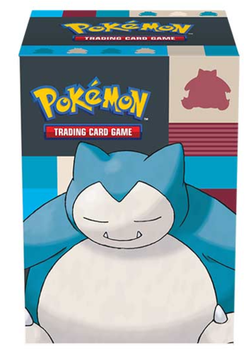 Deck Box Pokémon Snorlax Full-View