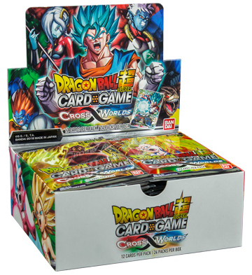 Cross Worlds Booster Display med 24 pack