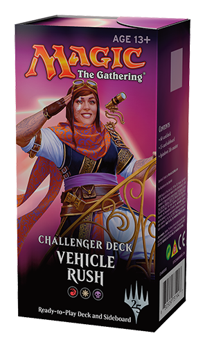 Challenger Deck 2018: Vehicle Rush