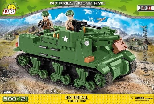 M7 Priest 105mm HMC - 500 pcs