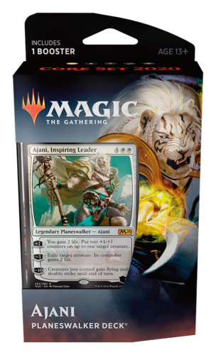 Core Set 2020 Planeswalker Deck: Ajani