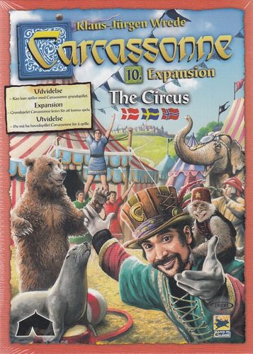 Carcassonne svenskt: 10 The Circus
