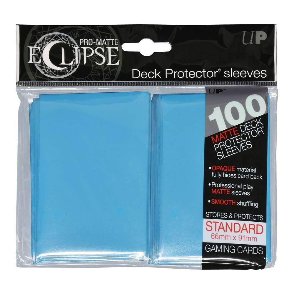 PRO-MATTE BLACK DECK PROTECTORS CARD SLEEVES FOR MTG OR POKEMON CARDS