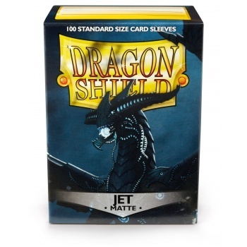 Dragon Shield 100 st - Matte Jet