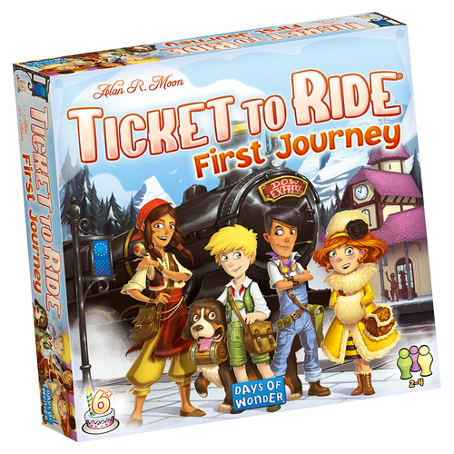 Ticket to Ride: First Journey Europe (nordic)
