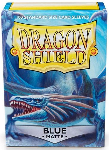 Dragon Shield 100 st - Matte Blue