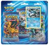 XY: 12 Evolution 3-pack booster (Black Kyurem)