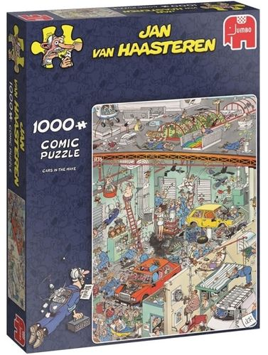 Jan van Haasteren - Cars in the make - 1000 bitar