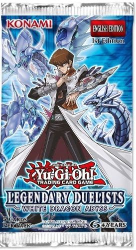 Legendary Duelists: White Dragon Abyss  Booster Pack
