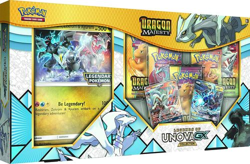 Dragon Majesty Legends of Unova GX Collection