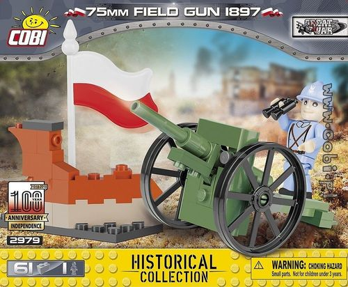 75 mm Field Gun 1897 - 61 pcs