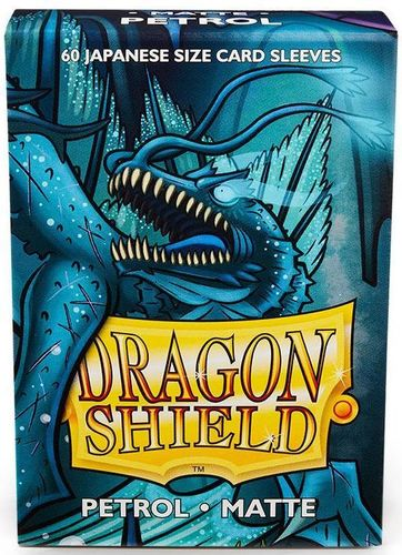 Dragon Shield 60 st Japanese Matte - Petrol