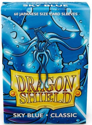 Dragon Shield 60 st Japanese Matte - Sky Blue