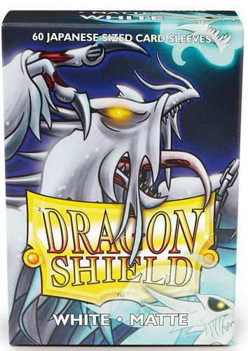 Dragon Shield 60 st Japanese Matte - White