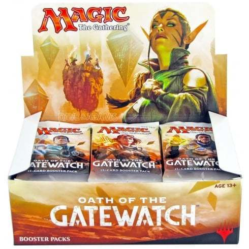 Oath the Gatewatch Booster Display