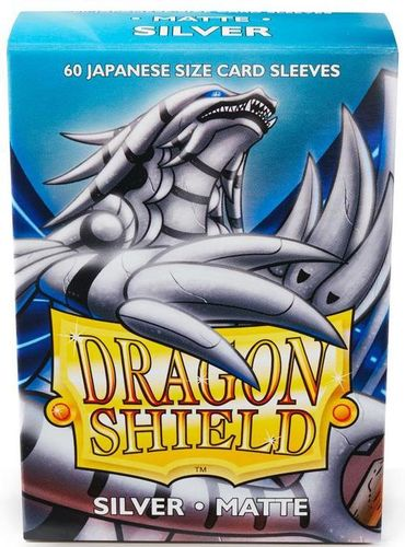 Dragon Shield 60 st Japanese Matte - Silver