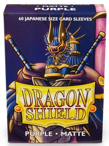 Dragon Shield 60 st Japanese Matte - Purple