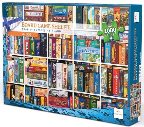 Board Game Shelfie - 1000 bitar