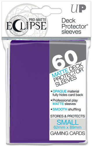 Deck Protector Small Eclipse Pro-Matte 60 st Royal Purple
