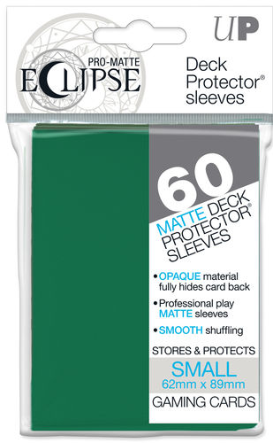 Deck Protector Small Eclipse Pro-Matte 60 st Forest Green