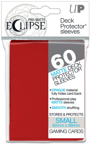 Deck Protector Small Eclipse Pro-Matte 60 st Apple Red