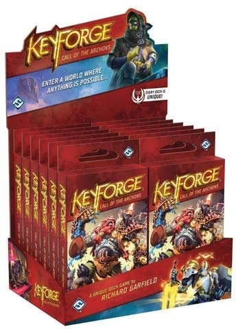 Keyforge: Call of the Archons Deck Display 12 st