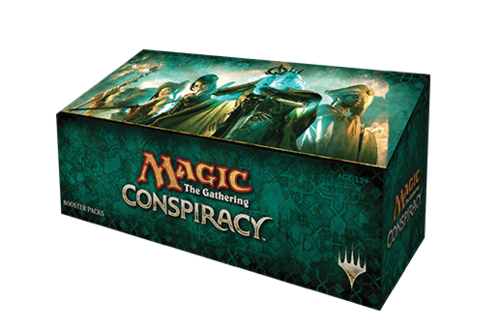 Conspiracy Booster Display