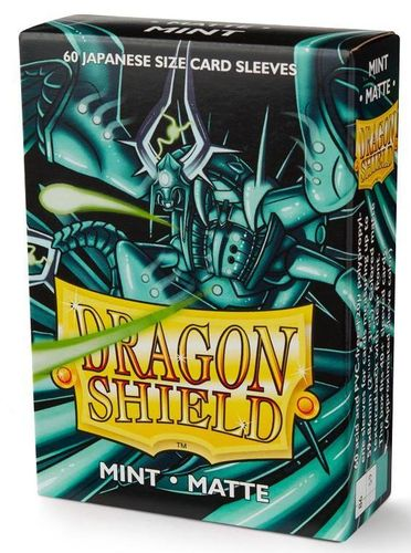 Dragon Shield 60 st Japanese Matte - Mint
