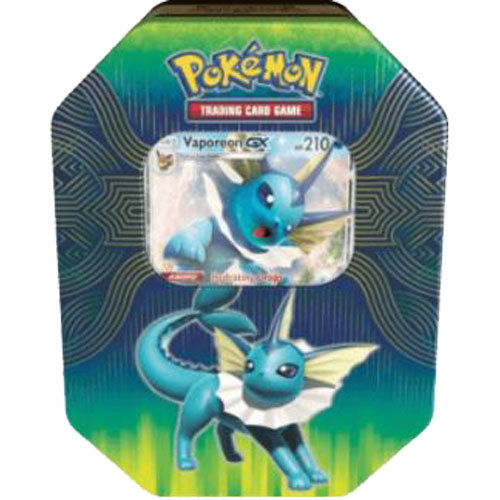2019 Spring Tin GX Elemental Power: Vaporeon-GX