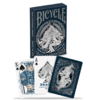 Bicycle Poker Dragon Blue