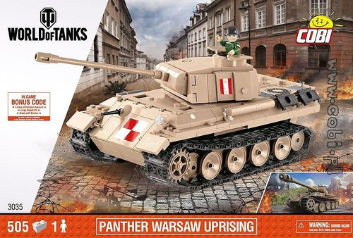 Panther Warsaw Uprising, 505 pcs