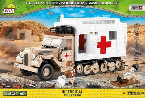 Ford V3000S Maultier Ambulance, 535 pcs