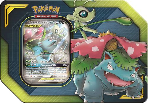 2019 Tag Team Tin: Celebi & Venusaur-GX