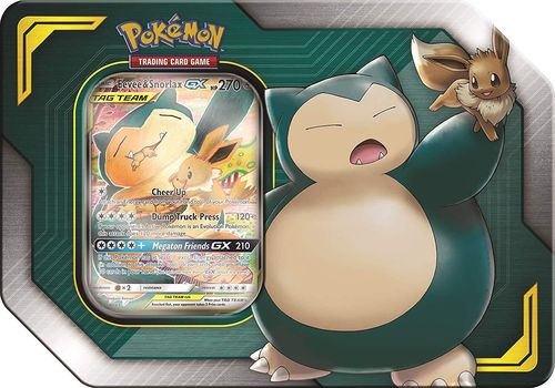 2019 Tag Team Tin: Eevee & Snorlax-GX