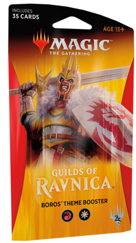 Guilds of Ravnica Boros Theme Booster Pack