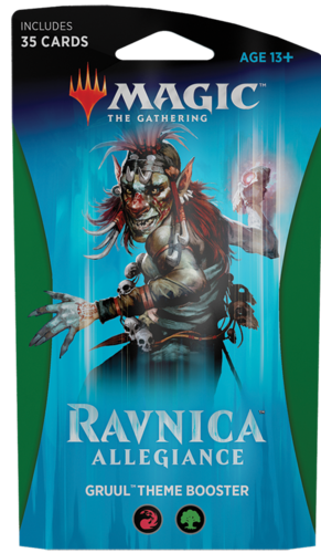 Ravnica Allegiance Gruul Theme Booster Pack