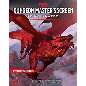 D&D Dungeon Masters's Screen Reincarnated (RPG)