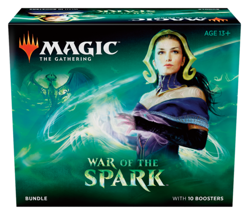 War of the Spark Bundle med 10 Booster Pack