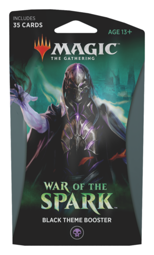 War of the Spark Theme Booster Pack - Black