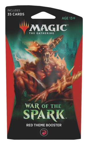War of the Spark Theme Booster Pack - Red