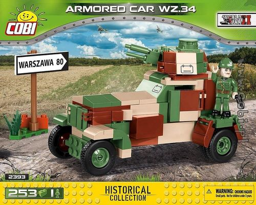 Armored Car wz.34, 253 pcs