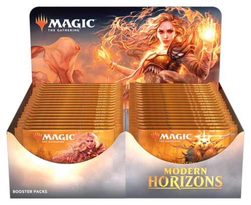 Modern Horizons 2019 Booster Display