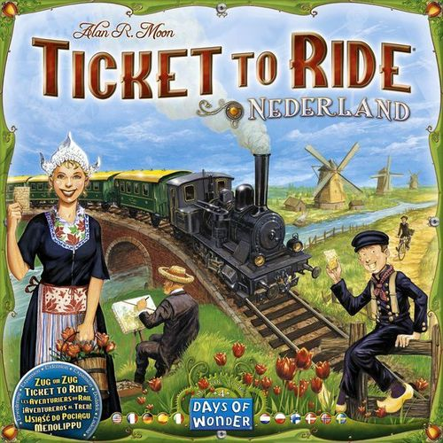 Ticket to Ride Map Collection: 4 Nederland