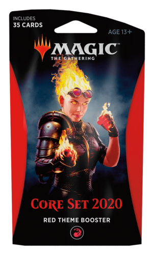 Core Set 2020 Theme Booster Pack - Red