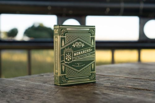 Theory11: Monarchs Green Edition