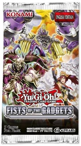 Fists of the Gadgets Booster med 5 foil kort