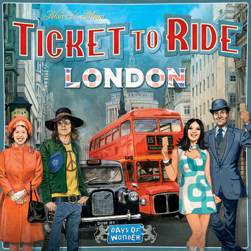 Ticket to Ride: London (nordic)